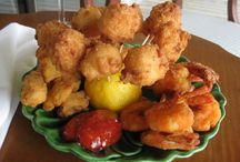 Seafood / Seafood creations made by Pantego Plantation