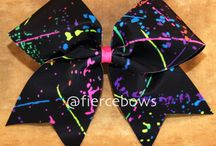 Cheer Bows / by Kayla Serf