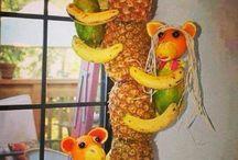 palmera de  ananas