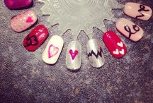 Valentine's Day Nails / Take a look at all the fab entries we have received for our Valentine Nail Design competition we're running over on our Facebook page. Link: https://www.facebook.com/capitalhairandbeauty/app_600469859988196