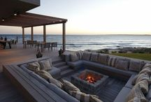 Outdoor Fire Pit, Fire Place & Barbecue Place