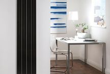 Aluminium Radiators / The future of heating, low water content, super responsive, easy to handle.   Beautiful designs made from extruded aluminium sheets.