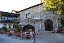 Olrey el Palacete Toledano / Restaurante Olrey en un palacete toledano completamente restaurado, con salones privados para bodas y celebraciones exclusivas.