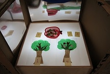 School - Light Table / Learning about how to use a light table in the early childhood classroom - Reggio Emilia Based