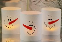 Karácsonyi gyerek kreatív