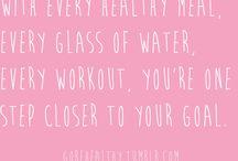 motivate me. / fitness motivation. health tips. inspiring quotes. / by Jennifer {StudioJRU}
