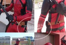 Authentic high end cosplay Deadpool costume with accessories mask and boots