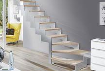 Lasergeschnittene Treppe