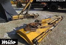 BALDER SON 140G PILLOWS / The Brand New Balder Son 140g Pillow Is Very Helpful And Beneficial Attachment Of The Machine. It Is Very Useful In General Operations Of Motor Grader.