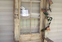 old window and door ideas / by Tammy Haubert