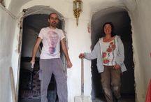 """Casa Cueva """"La Luz"""" (Hontoria de Cerrato) / Fotos de la casa cueva rural en el Cerrato Palentino. Para alojamientos en la calma, el yoga, la meditación y el viaje interior"""
