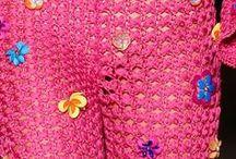Crochet Crop Top, Falda & Jaket