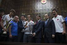 İşitme Engelli Futbol ve Voleybol Milli Takımı Kabulü