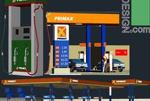 "Gas station architecture design and 3D equipment of gas stations (Autocad drawungs) / AutoCad ""DWG"" files collection which includes a collection of several Service station architecture design samples, together with some  details about Petrol station construction. A collection of AutoCad 3D models from gas station designs together with 3D models of gas station equipment. Some of 3D models are included full 3D model of fuel stations and some of the are autocad 3D models of equipment like pumps, fuel dispensers and …"
