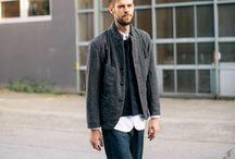 Menswear / Men's fashion editorial inspiration