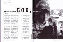 Magazine spreads / Inspiratie.
