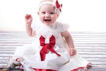 christmas baby dress
