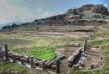 Ancient town of Tlos in Turkey