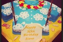 Hawaiian birthday cake / by Teresa Comerate Harwell
