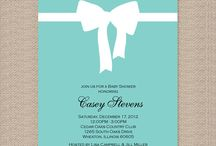 Baby shower invitations  / by Cathy Mullet
