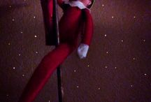 Naughty Elf on a Shelf / Having fun with Elf on a Shelf