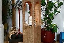 Dřevěné lampy