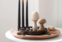 Tablett Dekoration / Dekorieren mit Tabletts, Tablett Deko, Kerzen Tablett, schöne Tabletts