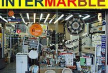 INTERMARBLE ARTEFACTOS SANITARIOS / INODOROS, BIDES, LAVATORIOS, BAÑERAS, RECEPTACULOS, BACHAS, PILETAS ROCA, CAPEA, FERRUM, PRINGLES, PIAZZA, CORDENONS INTERMARBLE SRL  AV. WARNES 360 - CAPITAL - ARGENTINA TEL 011-4856-8300 www.intermarble.com