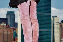 Edgy pink girl
