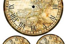 Cadrans et horloge