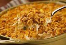 Quick and Easy Casseroles / I am a lover of casseroles - they are delicious and usually not too hard to put together. / by Betsy Ellis