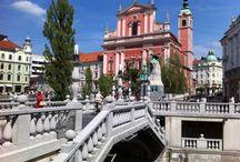 Slovenija / Bled Jezero, the capital Ljubljana and many other cities