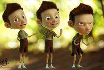 Kid character