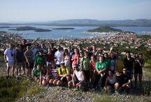 Intercâmbios / As viagens que realizamos com o nosso grupo de alunos EPCC/ com o programa Erasmus