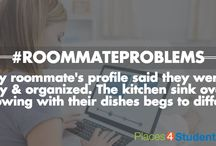 Roommate Problems / Sharing a place isn't always the easiest, and that's why there is #roommateproblems.  / by Places4Students.com