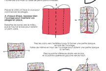 Couture origami
