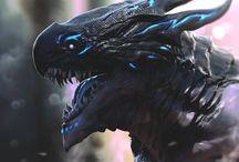 чёрный дракоша