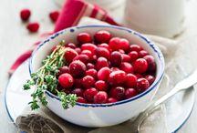 colour inspiration - cranberry