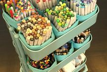 Art supplies/Storage