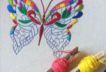 hímzés embroidery broderie
