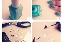 De uñas