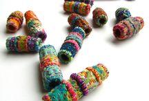 Textil és nemez ékszer, pitty-putty