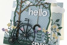 Step card inspirations / Beautiful step cards by other crafters