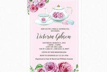 High Tea Bridal Shower