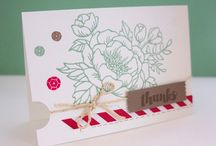 Printemps été stampin up 2016