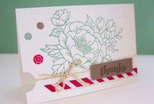 StampinUp Birthday Blooms