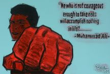 MUHAMMAD ALI' / He who is not courageous enough to take risks will accomplish nothing in life. Muhammad ALI'