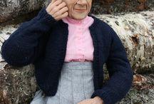 Ooak dolls by Marit Wallenberg / www.maritwallenberg.se