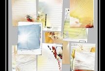 Colorful Digital Scrapbooking Kits {vibrant} / by Tiffany Tillman