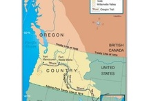 Mid 19th Century Oregon Country
